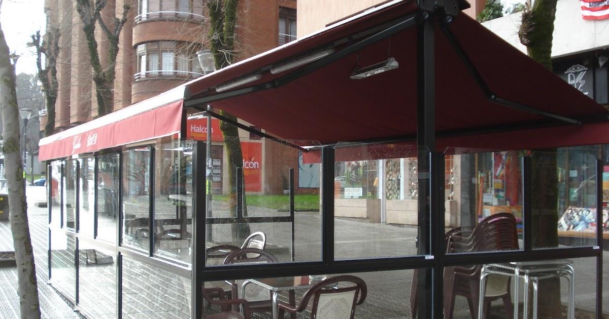 Terrazas climatizadas para hosteleria terraza de bar con - Toldos terraza bar ...