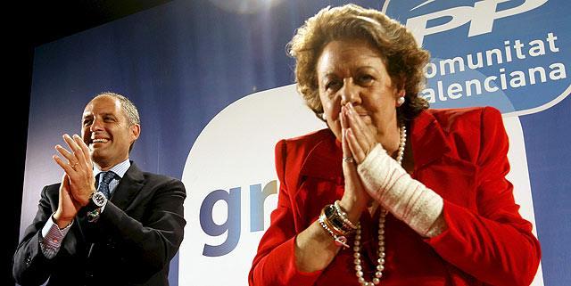 Macrorredada contra la corrupción del PP de Valencia