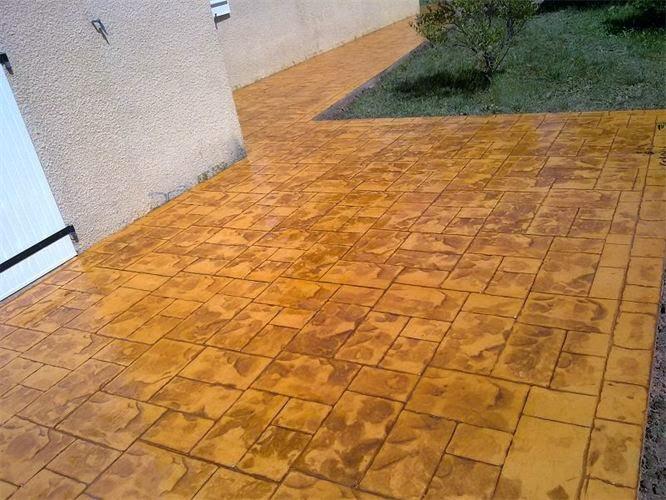 Hormigon impreso sax cemento impreso sax for Cemento impreso madrid
