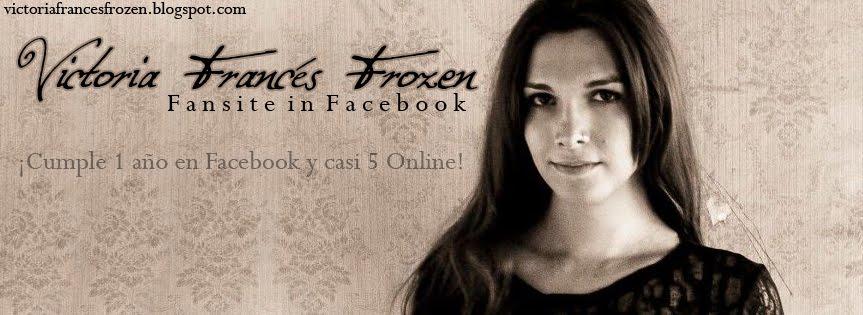 Victoria franc s frozen victori for Victoria frances facebook