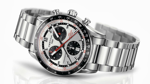 Certina DS-2 Chronograph Watch silver
