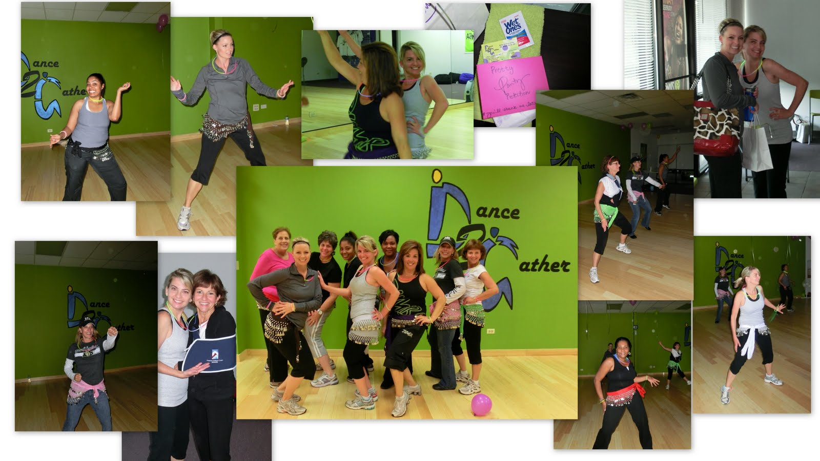 I had myself a little Zumba party for my birthday!