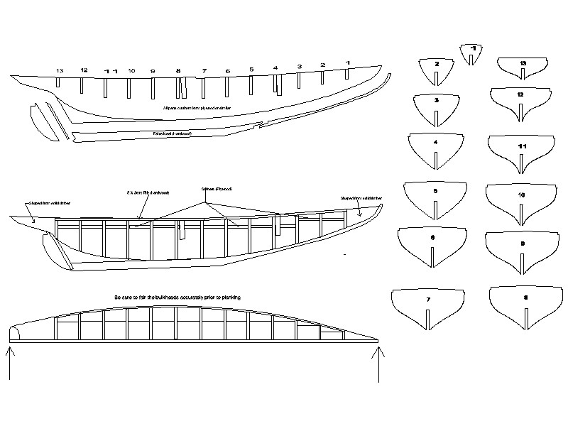 Wooden Model Builder: Bluenose Plans PDF