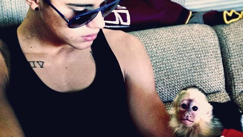 Justin Bieber's Monkey Troubles