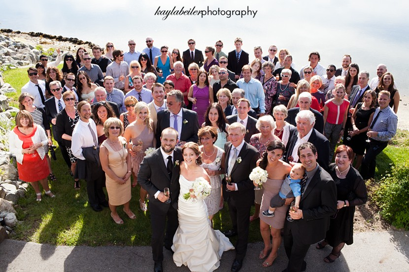 group photo wedding photo