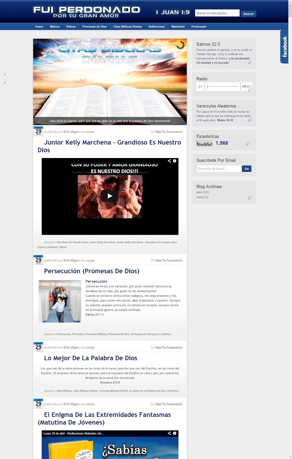 FuiPerdonado.blogspot.com