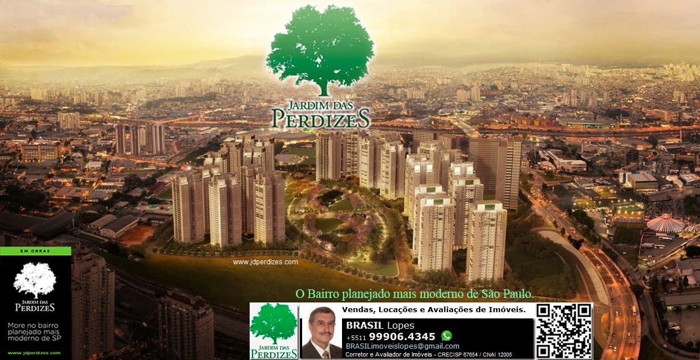 JARDIM DAS PERDIZES - O bairro planejado mais moderno de São Paulo-SP-Brasil