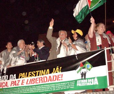Ato histórico em São Paulo pelo Estado da Palestina Já - foto 32
