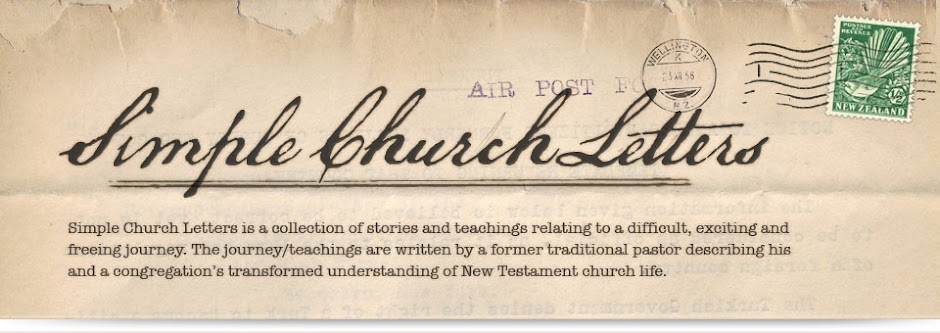 Simple Church Letters