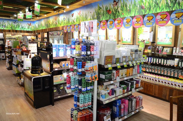 BMS Organics, located in the same shop area