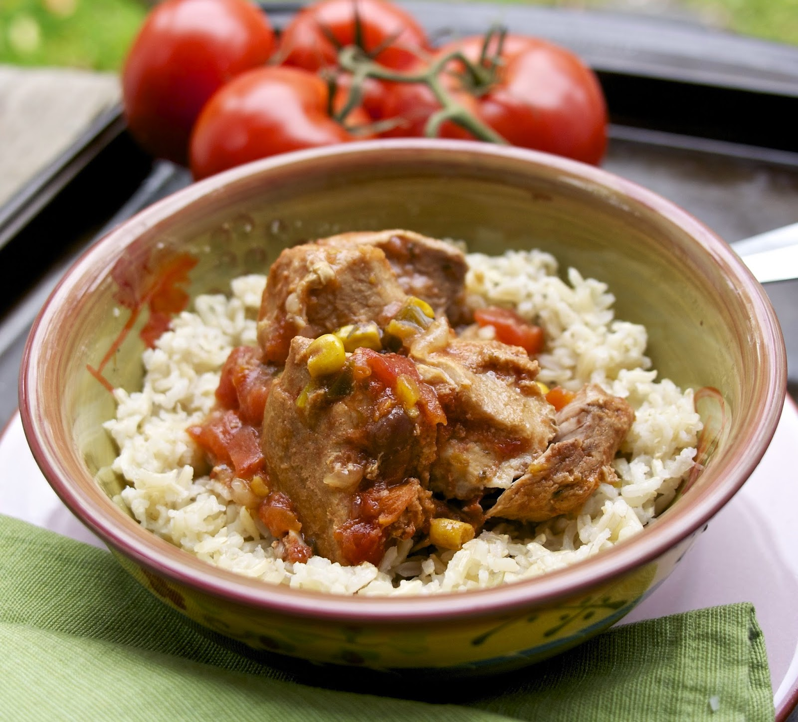 Easy Crockpot Mexican Pork Stew: simplelivingeating.com