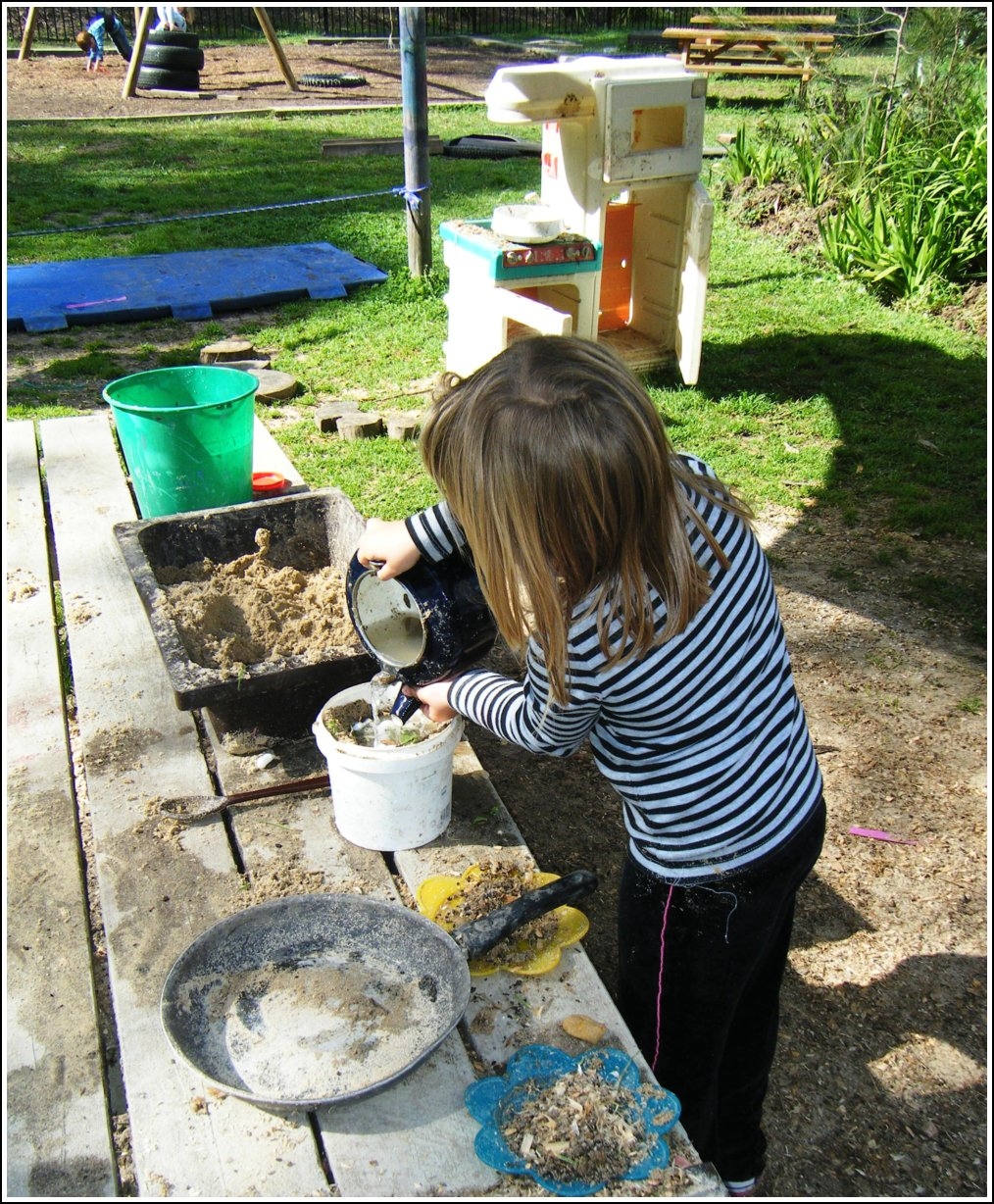 Let The Children Play O Is For Outdoor Play Kitchen A 39 Teach Preschool 39 Celebration