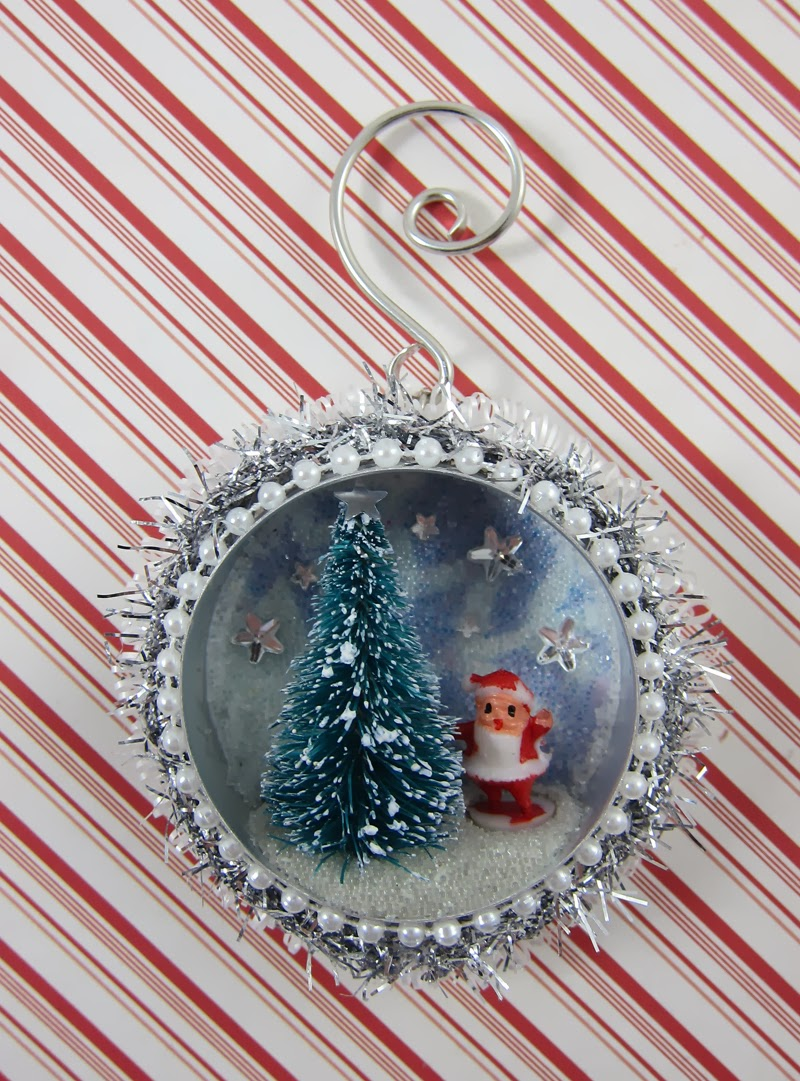 Junkampstuff Vintage Look Christmas Ornament