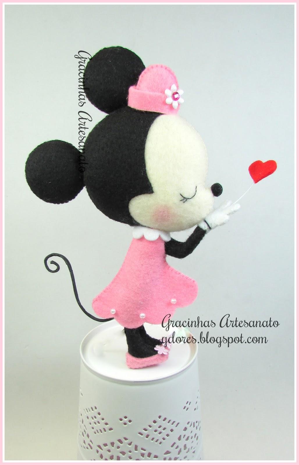 Mobile de ber o minnie mouse gracinhas artesanato - Minnie mouse mobel ...