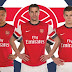 arsenal's new home kit