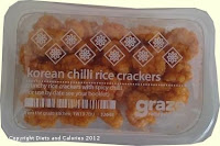 Graze box snack - Korean Chilli Rice Crackers