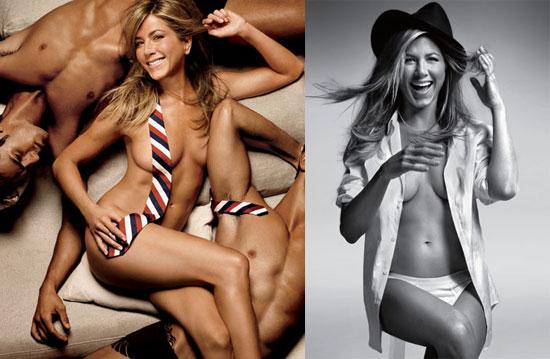 Jennifer Aniston nackt gq Konzept