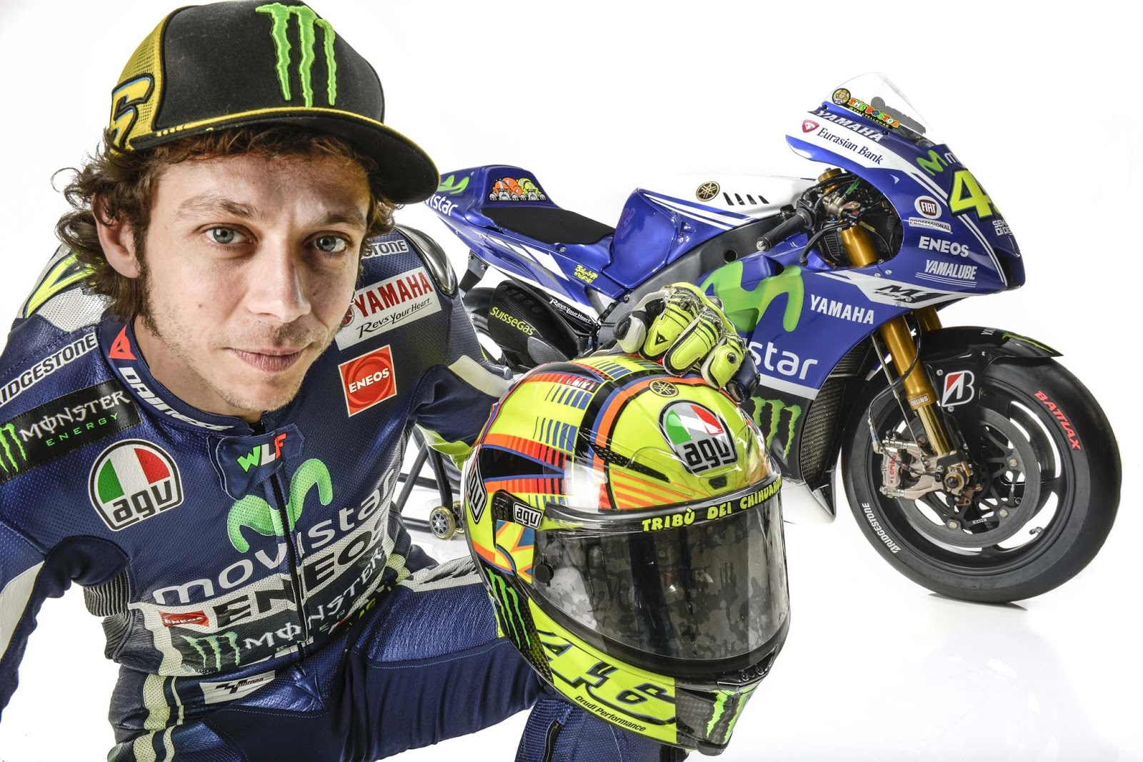 Top Valentino Rossi Vr 46 Wallpapers