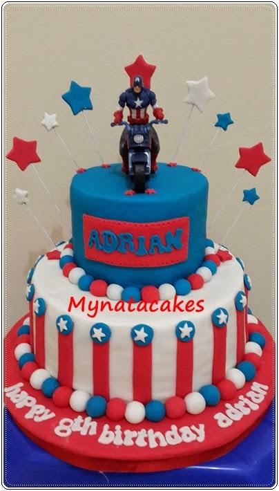 Mynata Cakes Superhero birthday cakes