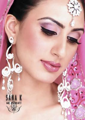 Pakistani Bridal Makeup Collection 2011-12
