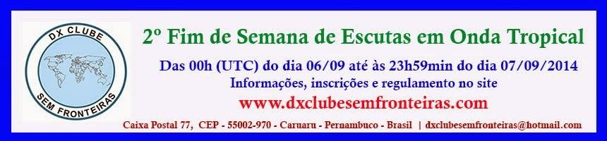 2º FIM DE SEMANA DE ESCUTAS EM ONDA TROPICAL