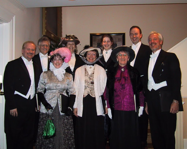 Victorian wear at the Rideau Hall skating party