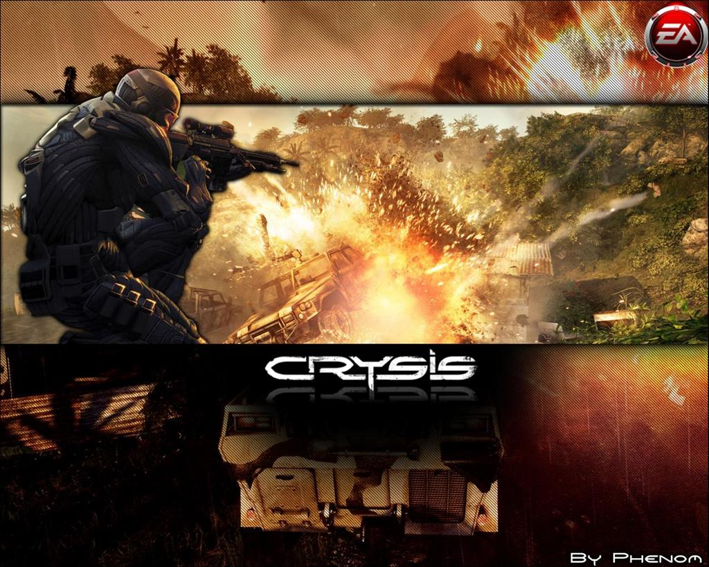 Crysis HD & Widescreen Wallpaper 0.461504707445551