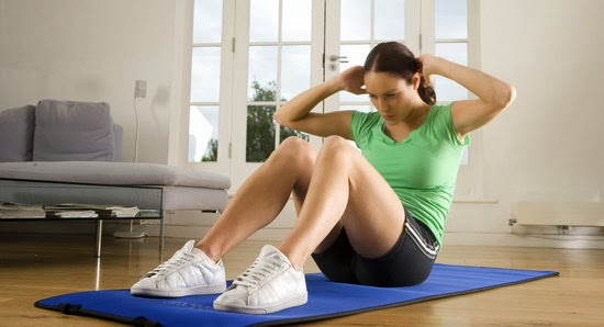 ... perut berikut olahraga yang mesti sobat praktekin biar perut ga buncit