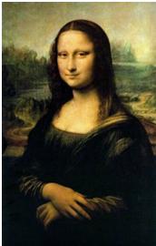 Mona Lisa karya Leonardo Da Vinci