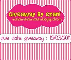 """""""giveaway by ezan"""""""