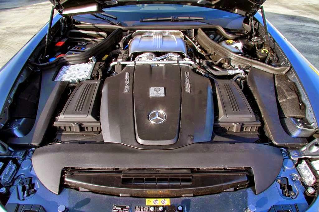 w205 amg engine