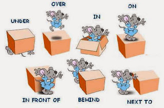 Prepositions game
