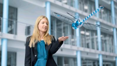 Robot Hewan capung tercanggih di dunia