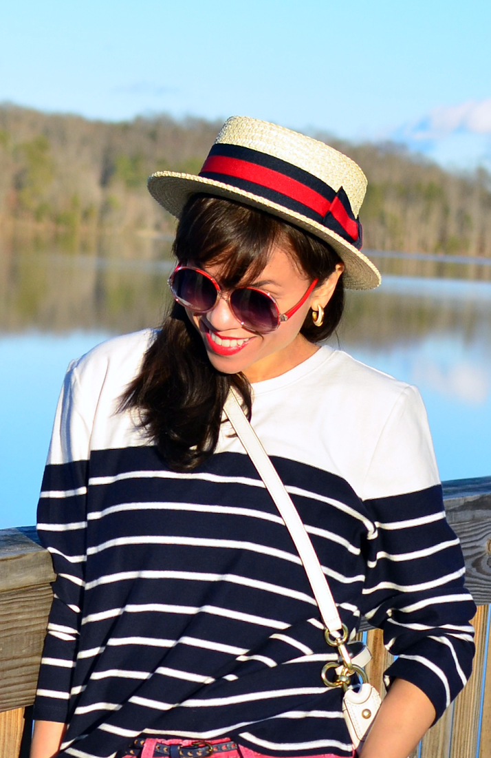 Boater hat trend
