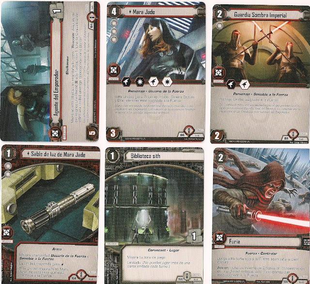 Expansión Star Wars LCG: Ciclo de Ecos de la Fuerza - La atracción del Lado Oscuro Agente del Emperador