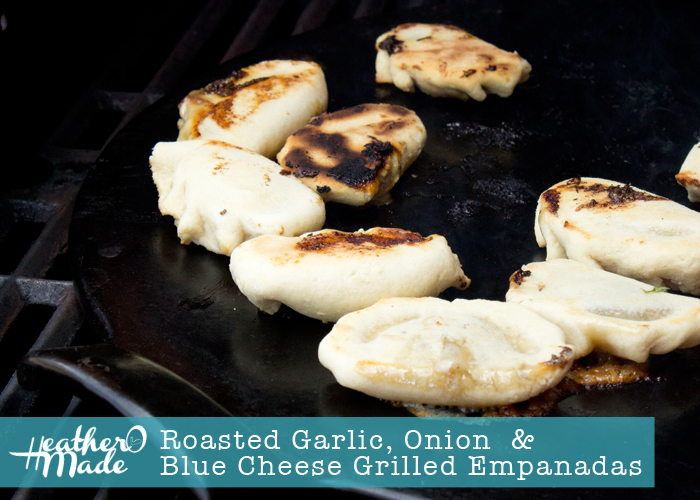 Roasted Garlic, Onion and Blue Cheese Grilled Empanadas. like ...