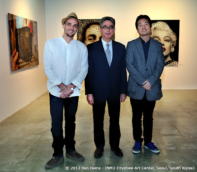 David Chang, François Bontemps - The Universe of Ben Heine Exhibition