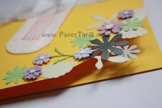 Floral handmade birthday cards