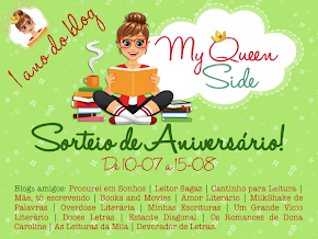 [Sorteio] Um ano do blog My Queen Side!