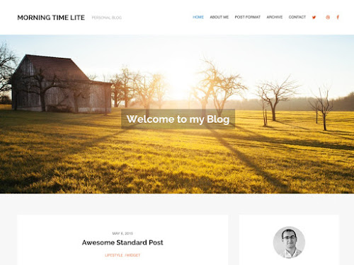 Download Tema WordPress MorningTime Lite