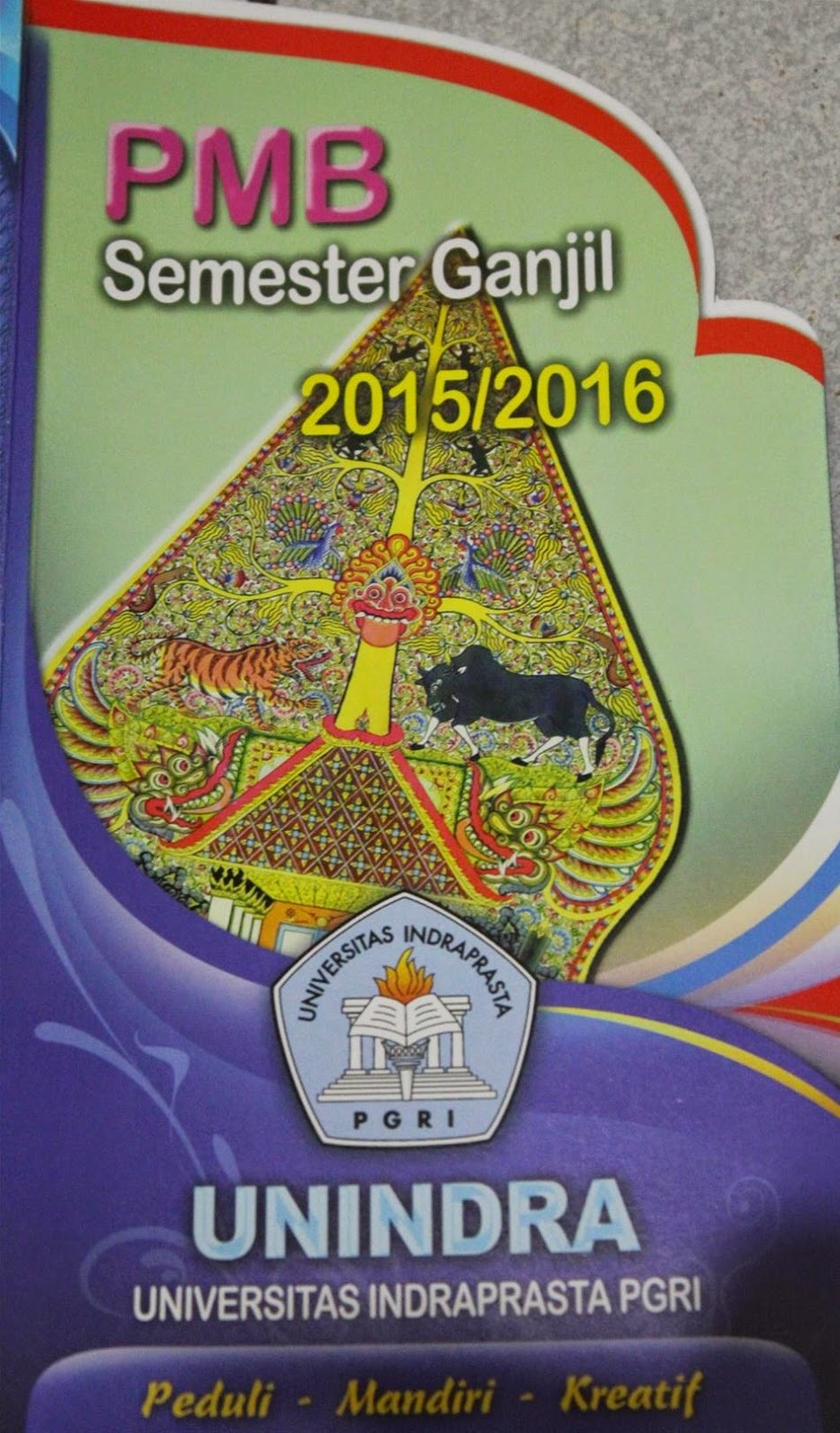Penerimaan Mahasiswa Baru Unindra 2015-2016