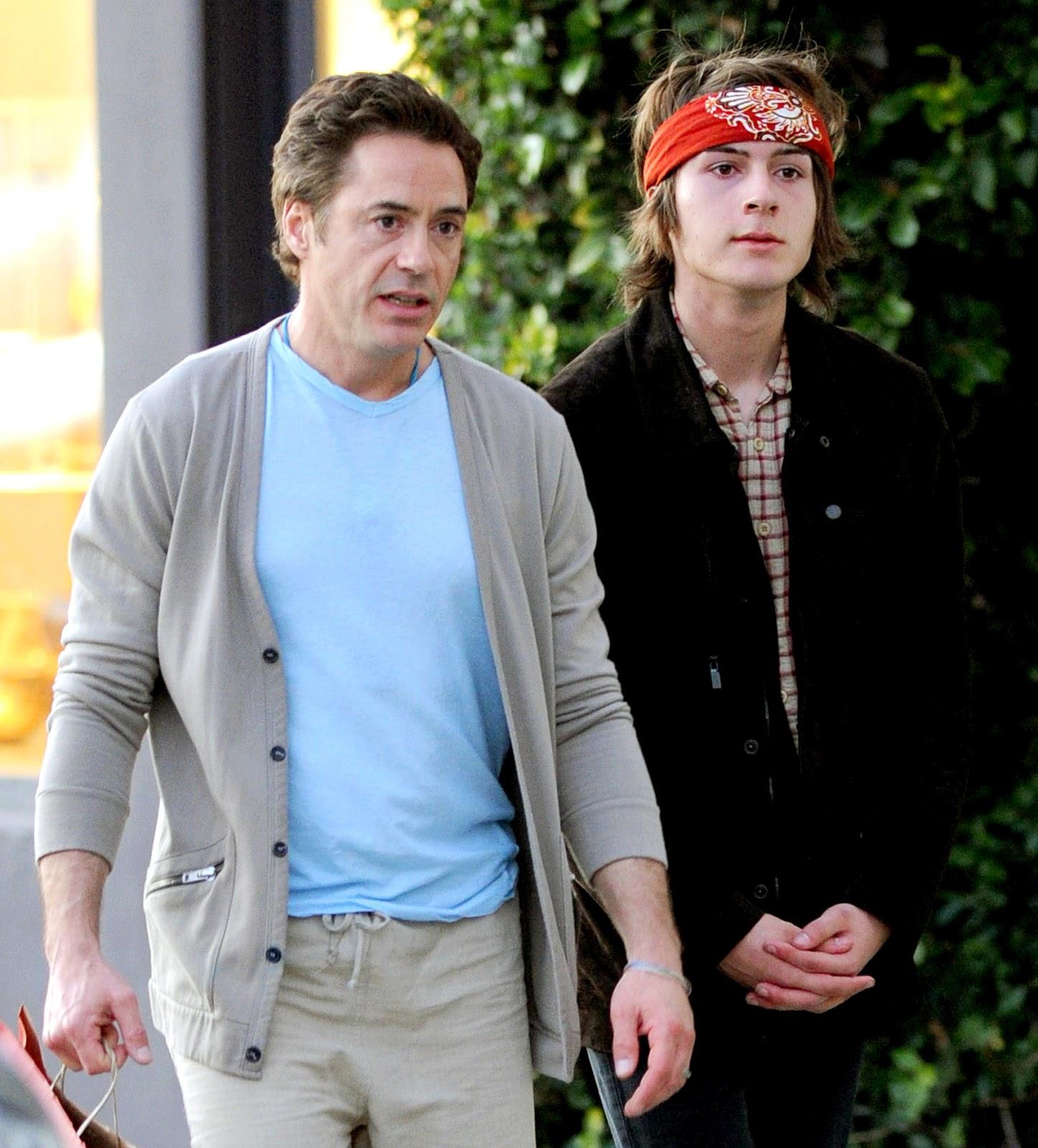 Robert Downey Jr Kids