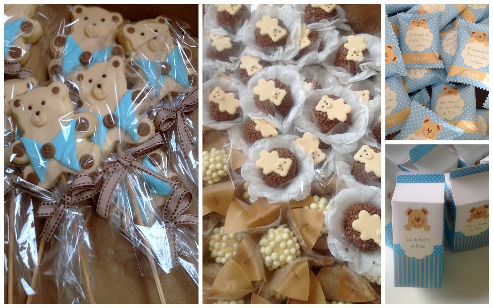 festa jardim dos ursos:Dolce Vila: Docinhos decorados para festa urso
