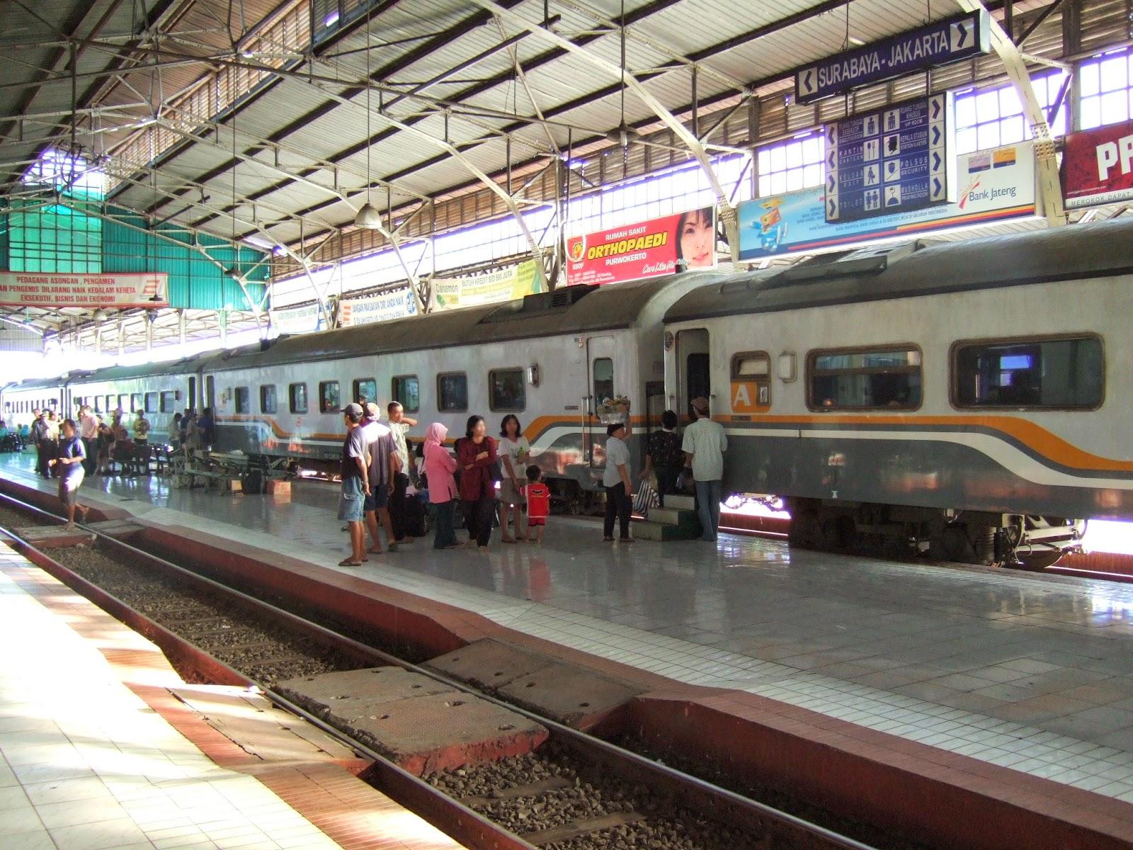 Informasi Jadwal dan Harga Tiket Kereta Api Jakarta - Purwokerto