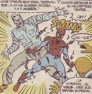 spiderman eslabón a eslabón