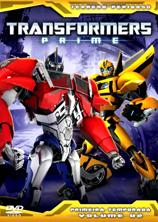 Download – Transformers Prime 1ª Temporada – Vol. 2 – DVDRip AVI + RMVB Dublado
