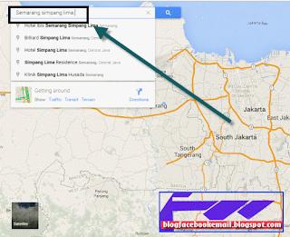 cara memasang peta google map
