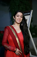 Actress Charmi Kaur Pictures in Red Salwar Kameez at Country Club Asia's Biggest New Year Bash 2014 Press Meet 0009.jpg