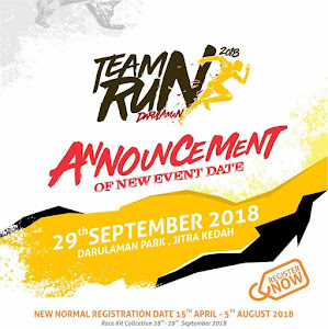 NEW DATE FOR BDB TEAM RUN 2018