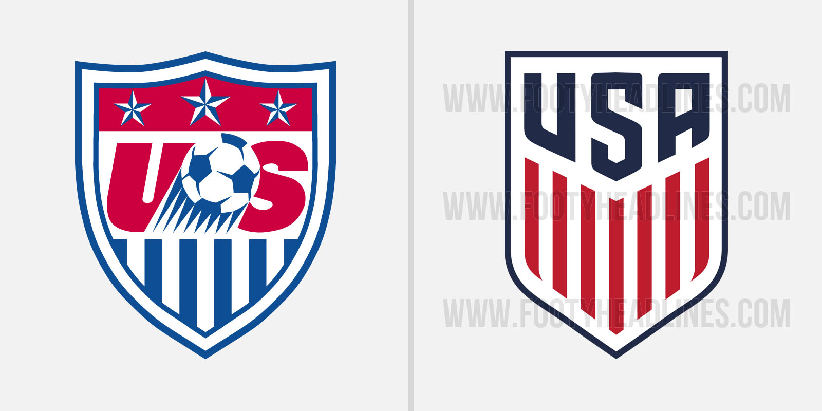 Usa World Cup Soccer Logo US Soccer Reveals New ...
